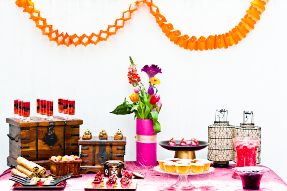 Tempting Table Moroccan look