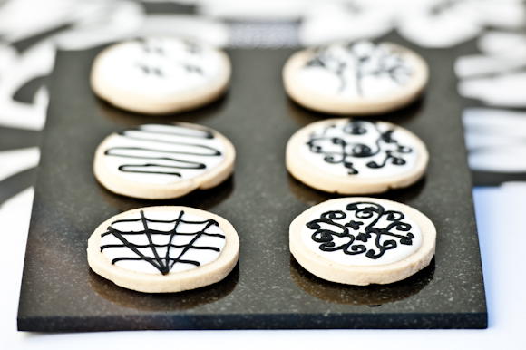 Tempting Table filigree cookies