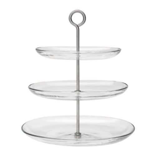 Tiered cake stands perfect for afternoon tea temptingcake for Stand de fruits ikea