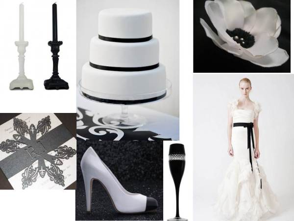 Monochrome inspiration by Tempting Cake
