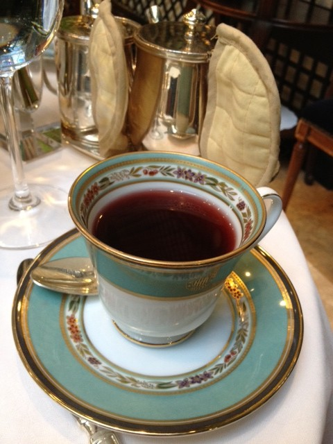 Tea at the Alvear Palace Hotel
