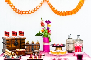 Moroccan inspired Tempting Table. Image by Liesl Cheney