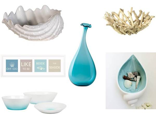 Seaside items for your table top