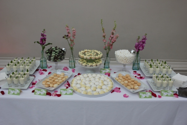 Summer wedding Tempting Table